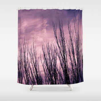 horizon Shower Curtain by VanessaGF