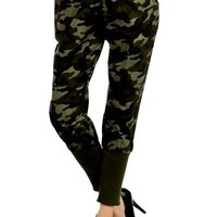 Camo Drawstring Joggers Size Small,Medium, or Large