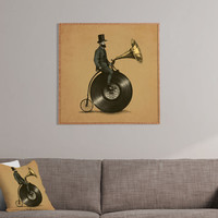 Eric Fan Music Man Framed Wall Art