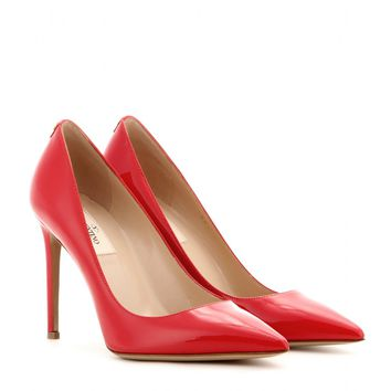 New Plain patent-leather pumps