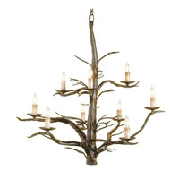 Iron Treetop Chandelier