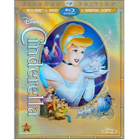 Walmart: Cinderella (Diamond Edition) (Blu-ray + DVD + Digital Copy) (Widescreen)