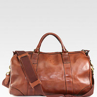 Polo Ralph Lauren: Leather Gym Bag