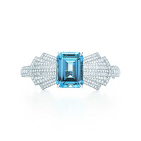 Tiffany & Co. - Aquamarine Bow Bracelet