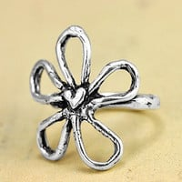 Blossom Ring Flower Jewelry Daisy Ring by islandcowgirl