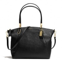 MADISON KELSEY SATCHEL IN LEATHER