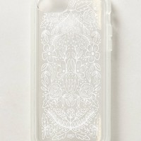 Etched Glass iPhone 5C Case by Anthropologie White One Size Tech Essentials