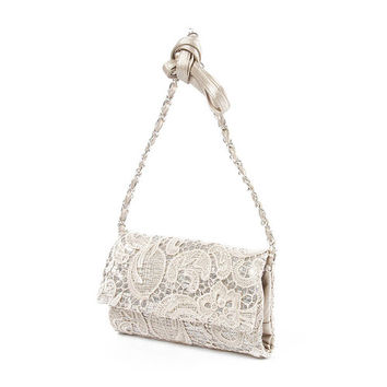 Venice Sequin and Lace Crossbody Bag