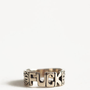 Fuck Word Ring By Jen&#x27;s Pirate Booty - &amp;#36;26.00 : ThreadSence.com, Your Spot For Indie Clothing  Indie Urban Culture