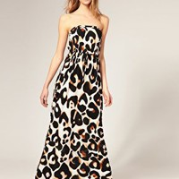ASOS | ASOS Maxi Dress in Leopard Print at ASOS