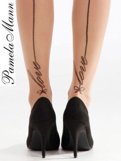 Pamela Mann Love Seam Tights - MyTights.com