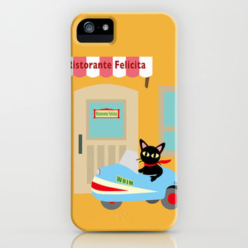 Town Riding iPhone & iPod Case by BATKEI