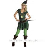 Adult Peter Pan Sassy Costume cosplay costume for sale [TWL111015061] - $100.00 : Cosplay, Cosplay Costumes, Lolita Dress, Sweet Lolita