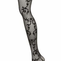 Emilio Cavallini Lace Tights - Black