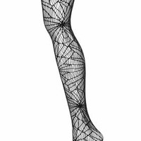 Emilio Cavallini Spider Tights - Black