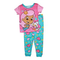 Bubble Guppies Toddler Girls Cotton Pajama Set