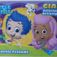 Bubble Guppies Giant Coloring and Activity Book