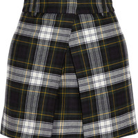 McQ Alexander McQueen | Checked wool mini skirt | NET-A-PORTER.COM