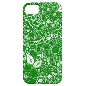 Botanical Beauties Green, iPhone 5/5s Case