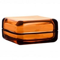 Vitriiini glass box in Orange - Pop! Gift Boutique
