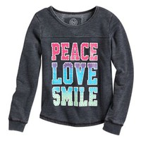 SO® Fleece Studded Top - Girls 7-16