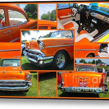 1959 Chevrolet 210 Collage Acrylic Print