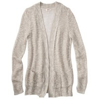Junior's Open Front Cardigan Sweater