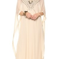 Clare Beaded Caftan Maxi Dress