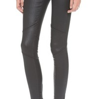 The Moto Zipper Legging Jeans
