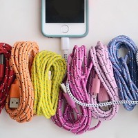 10 Foot Bungee iPhone Cable-iPhone 5