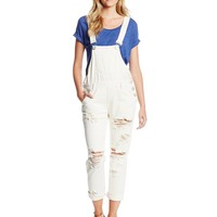 One Teaspoon Women's Awesome Denim Overall in Pure
