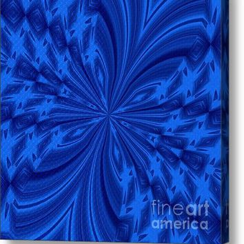 Abstract Butterfly Blue Acrylic Print