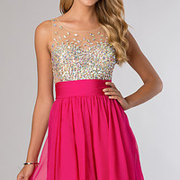Sleeveless Party Dress from JVN by Jovani