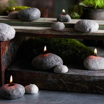 Harabu House - Pebble Candles