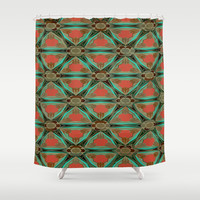 Moorish Earth Shower Curtain by Ally Coxon | Society6