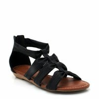 strappy gladiator sandals $18.70 in BLACK CHESTNUT RED - Sandals | GoJane.com