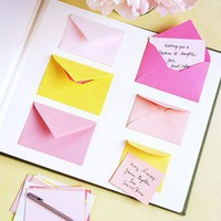 Envelope Guest Book - Good Things for Spring Weddings - You're Engaged! - Marth