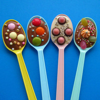 chocolate party spoons!