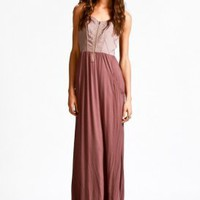 gentle fawn - casablanca maxi dress (blackberry) - Gentle Fawn | 80&#x27;s Purple