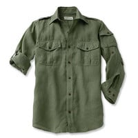 Long-Sleeve Shirt for Men / Linen Bush Long-sleeve Shirts -- Orvis