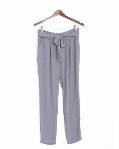 Loose Grey Trousers