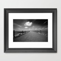 Beyond The Sea To The Sky  Framed Art Print by secretgardenphotography [Nicola] | Society6