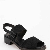 To Be Announced Fiji Calf Hair Slingback Sandal - Urban Outfitters