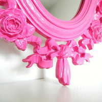 Vintage Mirrors Pink Shabby Chic Girls Room by CityGirlsDecor