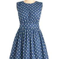 Emily and Fin Too Much Fun Dress in Bubbles | Mod Retro Vintage Dresses | ModCloth.com