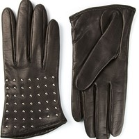Alexander Mcqueen Studded Gloves - Stefania Mode - Farfetch.com