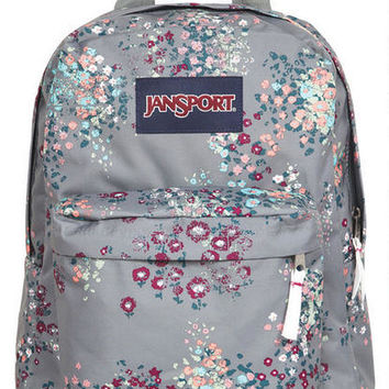 Jansport® Grey Floral Backpack