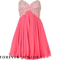 pink forever unique jewelled bustier dress - branded dresses - dresses - women - River Island