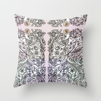 'a sort of emotional anemia.' Throw Pillow by anipani