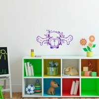 Wall Vinyl Decal Cartoon Cat Nursery Room Art Decor Removable Stylish Sticker Mural Unique Design for Any Room 226